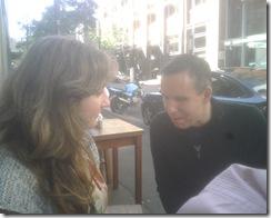 Tim Noonan and Katie Chatfield